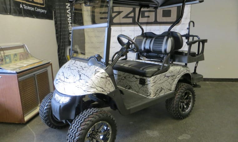Custom E-Z-GO RXV-Electric - In New Hampshire