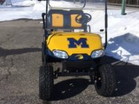 University of Michigan Custom Golf Car